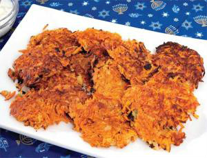 reformjudaism.org Sweet Potato and Carrot Latkes Gluten Free Reform Judaism