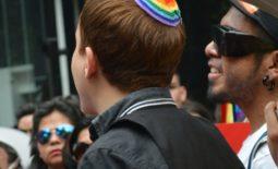 Rainbow Kippah