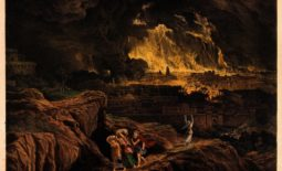 Lot and his family flee Sodom