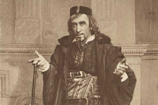 Portrait of Henry Irving as Shylock.