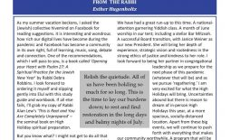 July 2021 Bulletin Cover